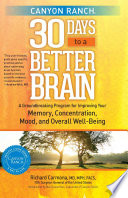 Canyon Ranch 30 Days to a Better Brain Pdf/ePub eBook