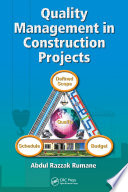 Quality Management in Construction Projects