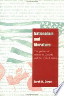 Nationalism and Literature
