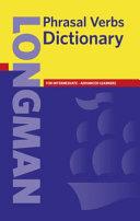 Longman Phrasal Verbs Dictionary