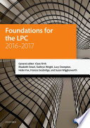 Foundations for the Lpc 2016 2017