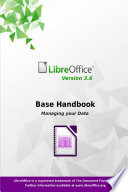 LibreOffice 3 6 Base Handbook