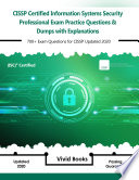 Cissp Isc 2 Certified Information Systems Security Professional Exam Practice Questions Dumps