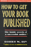 How To Get Your Book Published book