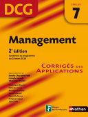 Management   DCG     preuve 7   Corrig  s des applications
