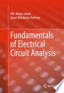 Fundamentals Of Electrical Circuit Analysis
