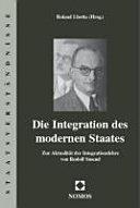 Die Integration des modernen Staates