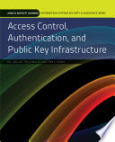 Access Control  Authentication  and Public Key Infrastructure