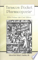 Tarascon Pocket Pharmacopoeia 2016 Deluxe Lab Coat Edition