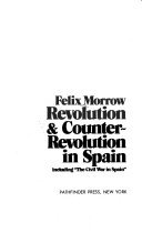 download ebook revolution & counter-revolution in spain, including the civil war in spain pdf epub