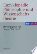 Enzyklop  die Philosophie und Wissenschaftstheorie