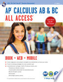 AP® Calculus AB & BC All Access Book + Online