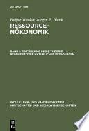 Einführung in die Theorie regenerativer natürlicher Ressourcen
