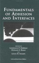 Fundamentals of Adhesion and Interfaces