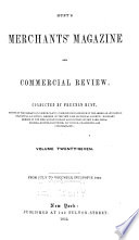 Hunt s Merchants  Magazine and Commercial Review