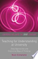 Teaching for Understanding at University