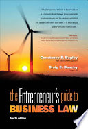The Entrepreneur's Guide to Business Law