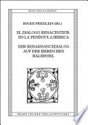 El diálogo renacentista en la Península Ibérica