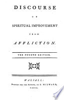 Discourse On Spiritual Improvement From Affliction The Dedication Signed John Darwall The Fourth Edition