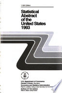 Statistical Abstract of the United States  1993
