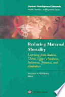 Reducing Maternal Mortality