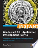 Instant Windows 8 C   Application Development How to