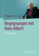 Begegnungen mit Hans Albert