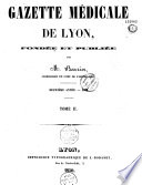 Gazette médicale de Lyon