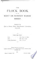 The Flock Book of the Kent Or Romney Marsh Sheep Book PDF
