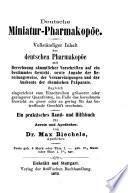 Deutsche Miniatur-Pharmakopöe