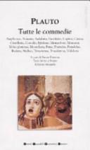 Tutte le commedie  Testo latino a fronte  Ediz  integrale
