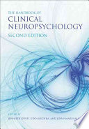 Handbook Of Clinical Neuropsychology