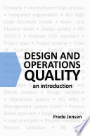 Design and Operations Quality: An introduction