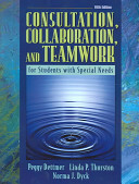 Consultation  Collaboration  and Teamwork for Students with Special Needs