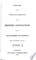 Twelfth Meeting   Held At Manchester In June 1842