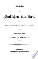 Bibliothek der deutschen klassiker