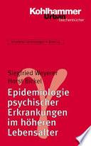 Epidemiologie psychischer Erkrankungen im höheren Lebensalter