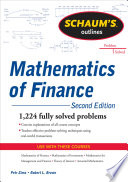 Schaum s Outline of Mathematics of Finance