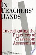 In Teachers' Hands