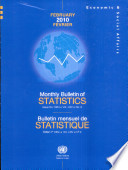 Monthly Bulletin of Statistics, February 2010