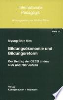 Bildungsökonomie und Bildungsreform
