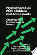 Psychotherapies With Children And Adolescents