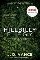 Hillbilly Elegy Movie Tie In