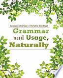 Grammar and Usage  Naturally