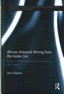 Book African Artisanal Mining from the Inside Out