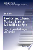 Read-Out and Coherent Manipulation of an Isolated Nuclear Spin Electrical Manipulation Of A Single Nuclear