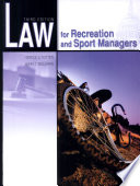 Law for Recreation and Sport Managers