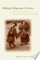 Making Indigenous Citizens