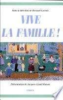 illustration du livre Vive la famille!