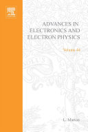 """""""Advances in Electronics and Electron Physics"""" Cover"""
